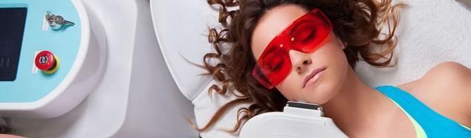 هنگام لیزر درمانی باید از چشم ها محافظت شود